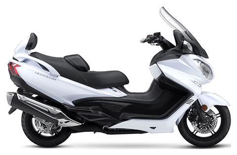 2018 Suzuki Burgman 650 Executive in Concord, New Hampshire