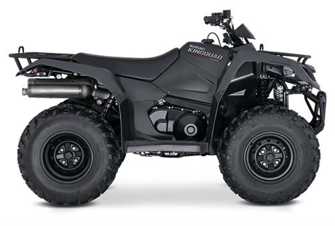 2019 Suzuki KingQuad 400ASi+ in West Bridgewater, Massachusetts