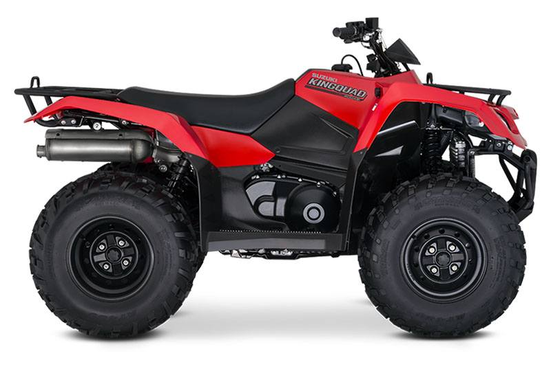 2019 Suzuki KingQuad 400ASi in Mount Vernon, Ohio