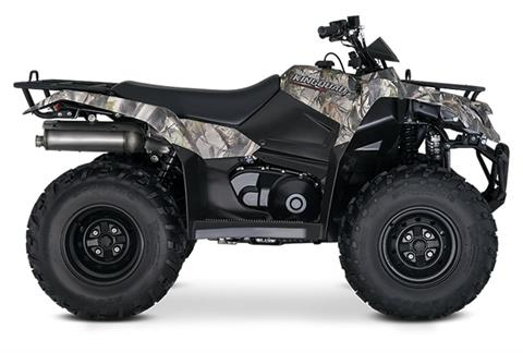 2019 Suzuki KingQuad 400ASi Camo in Francis Creek, Wisconsin