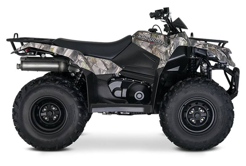2019 Suzuki KingQuad 400ASi Camo in Hancock, Michigan