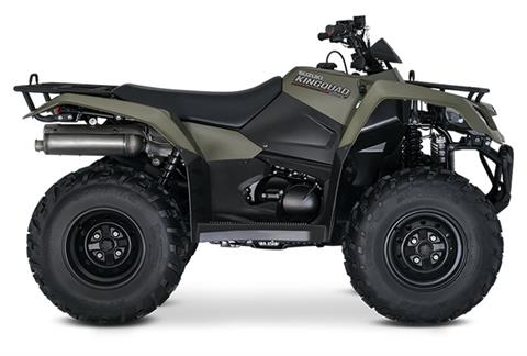 2019 Suzuki KingQuad 400FSi in Francis Creek, Wisconsin