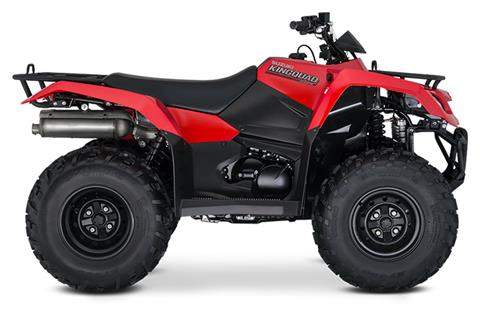 2019 Suzuki KingQuad 400FSi in Phillipston, Massachusetts