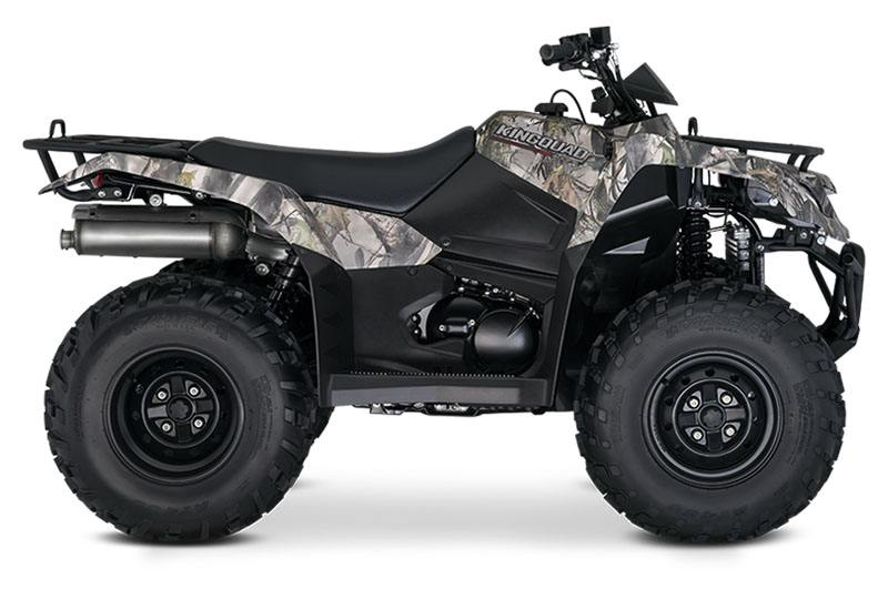 2019 Suzuki KingQuad 400FSi Camo in Coloma, Michigan
