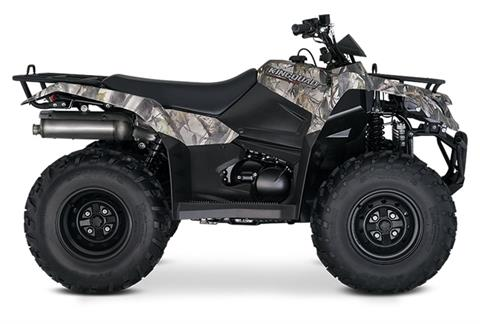 2019 Suzuki KingQuad 400FSi Camo in Belleville, Michigan