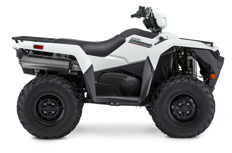 2019 Suzuki KingQuad 500AXi Power Steering in Phillipston, Massachusetts