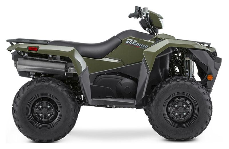 2019 Suzuki KingQuad 500AXi Power Steering in Jamestown, New York - Photo 1