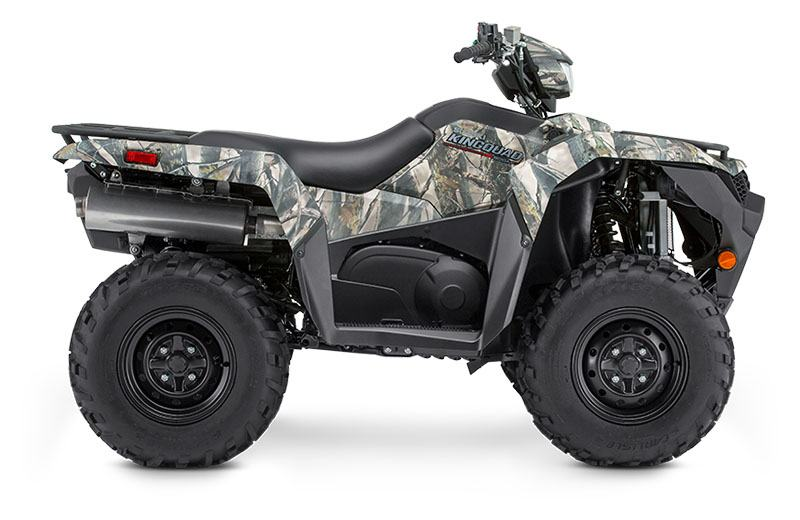 2019 Suzuki KingQuad 500AXi Power Steering Camo in Bennington, Vermont