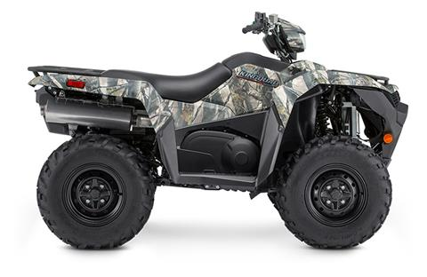 2019 Suzuki KingQuad 500AXi Power Steering Camo in Oak Creek, Wisconsin