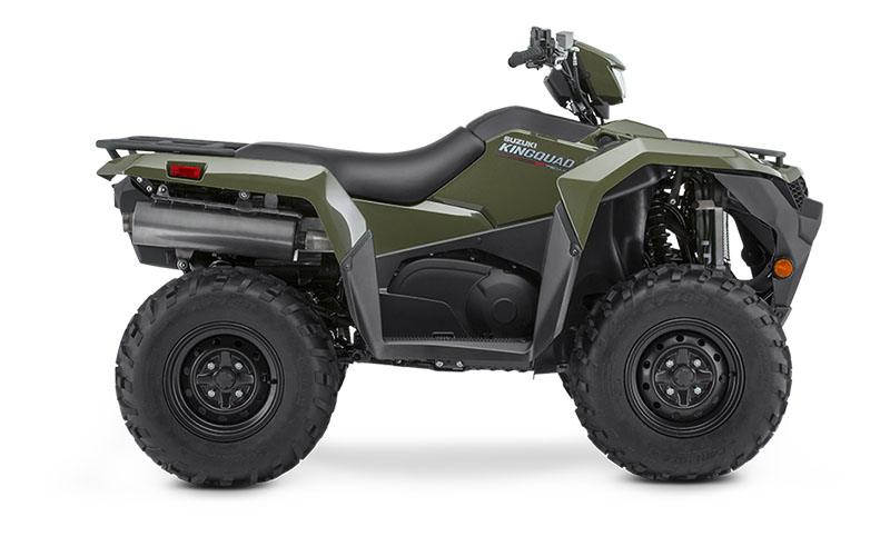 2019 Suzuki KingQuad 750AXi Power Steering in Belleville, Michigan