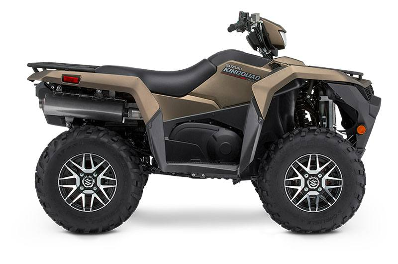 2019 Suzuki KingQuad 750AXi Power Steering SE+ in Fairfield, Illinois