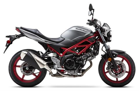2019 Suzuki SV650 in Concord, New Hampshire