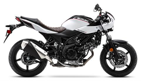 2019 Suzuki SV650X in Concord, New Hampshire