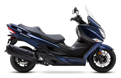 2019 Suzuki Burgman 400 in Concord, New Hampshire