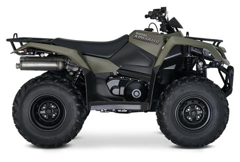 2020 Suzuki KingQuad 400ASi in Francis Creek, Wisconsin