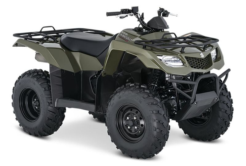 2020 Suzuki KingQuad 400ASi in West Bridgewater, Massachusetts - Photo 2