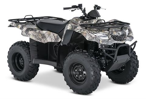2020 Suzuki KingQuad 400ASi Camo in Hancock, Michigan - Photo 2