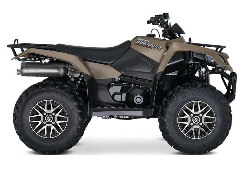 2020 Suzuki KingQuad 400ASi SE+ in Belleville, Michigan - Photo 1