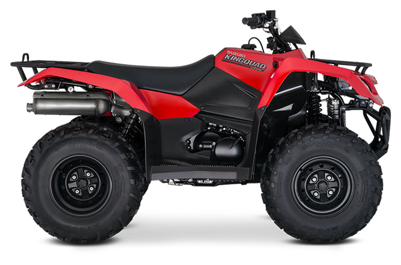 2020 Suzuki KingQuad 400FSi in Belleville, Michigan - Photo 1