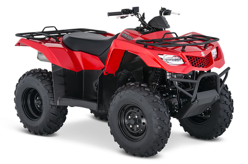 2020 Suzuki KingQuad 400FSi in Coloma, Michigan - Photo 2