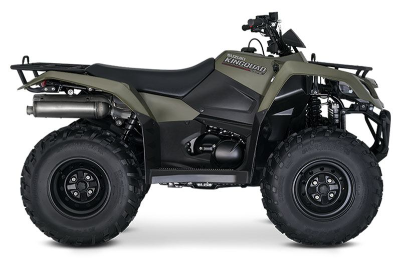 2020 Suzuki KingQuad 400FSi in Iowa City, Iowa - Photo 1