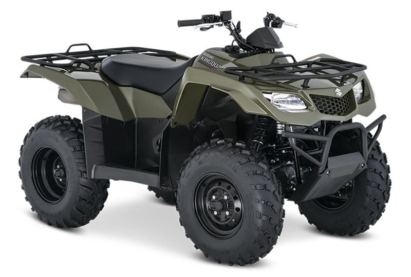 2020 Suzuki KingQuad 400FSi in Belleville, Michigan - Photo 2