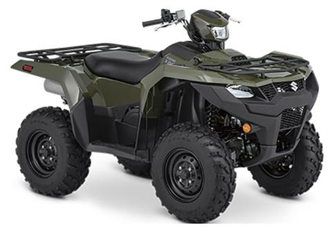 2020 Suzuki KingQuad 500AXi Power Steering in Iowa City, Iowa - Photo 2