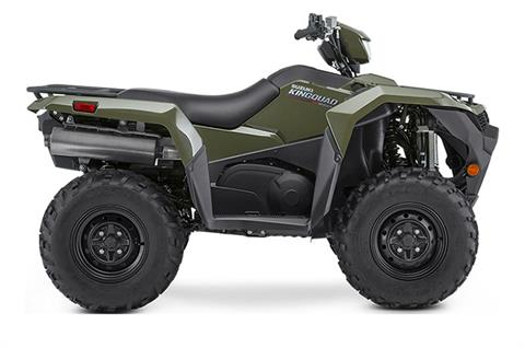 2020 Suzuki KingQuad 500AXi Power Steering in Belleville, Michigan