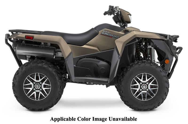 2020 Suzuki KingQuad 500AXi Power Steering SE+ with Rugged Package in San Francisco, California