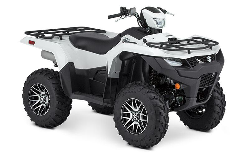 2020 Suzuki KingQuad 500AXi Power Steering SE in Iowa City, Iowa - Photo 2