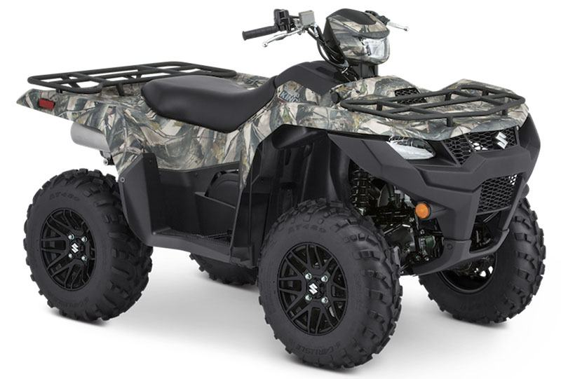 2020 Suzuki KingQuad 500AXi Power Steering SE Camo in West Bridgewater, Massachusetts - Photo 2