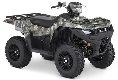 2020 Suzuki KingQuad 500AXi Power Steering SE Camo in Danbury, Connecticut - Photo 2