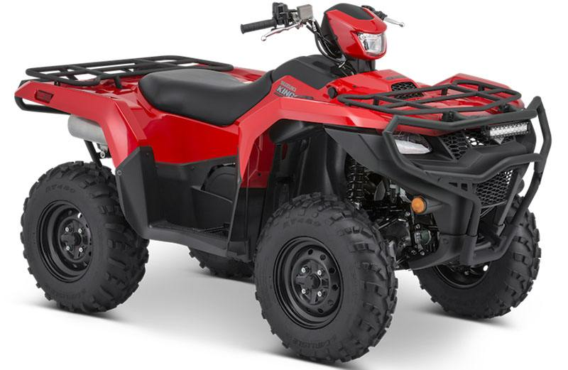 2020 Suzuki KingQuad 500AXi Power Steering with Rugged Package in Belleville, Michigan - Photo 2