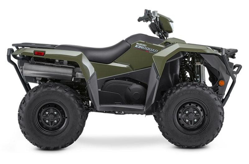 2020 Suzuki KingQuad 500AXi Power Steering with Rugged Package in Hancock, Michigan - Photo 1