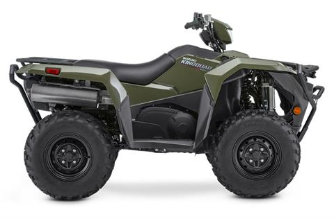 2020 Suzuki KingQuad 500AXi Power Steering with Rugged Package in Watseka, Illinois