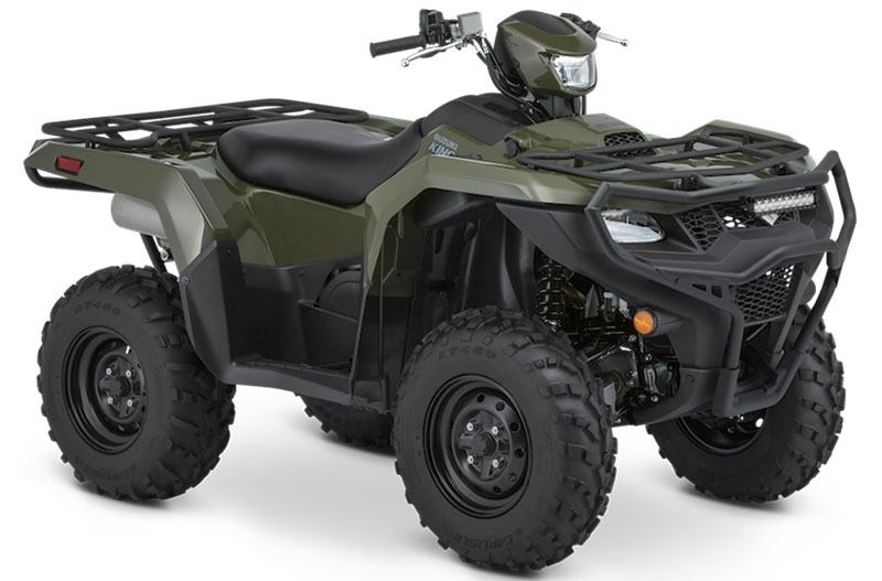 2020 Suzuki KingQuad 500AXi Power Steering with Rugged Package in Athens, Ohio - Photo 2