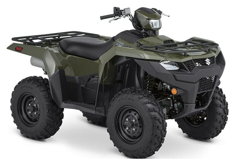 2020 Suzuki KingQuad 750AXi in Hancock, Michigan - Photo 2