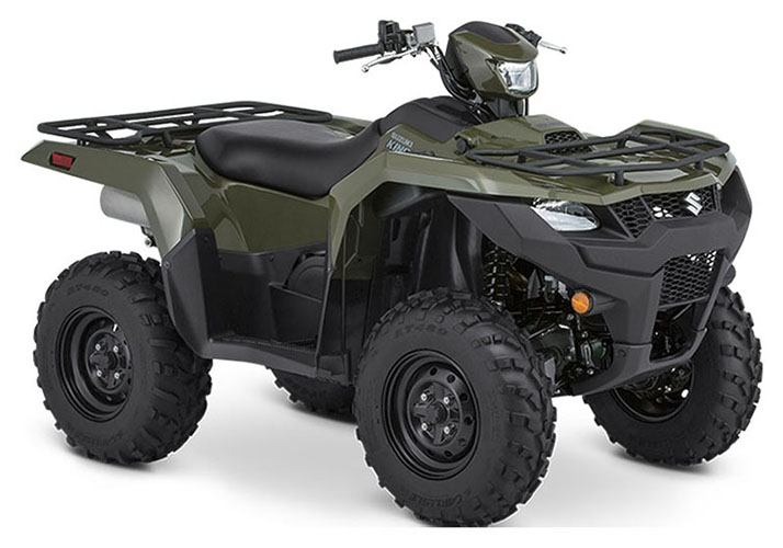 2020 Suzuki KingQuad 750AXi Power Steering in Iowa City, Iowa - Photo 2