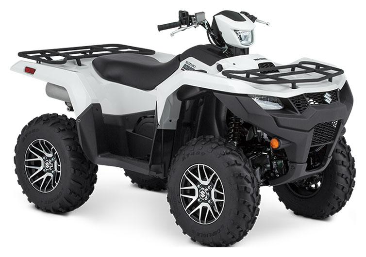 2020 Suzuki KingQuad 750AXi Power Steering SE in Francis Creek, Wisconsin - Photo 2