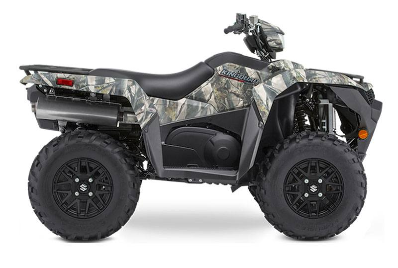 2020 Suzuki KingQuad 750AXi Power Steering SE Camo in Danbury, Connecticut - Photo 1