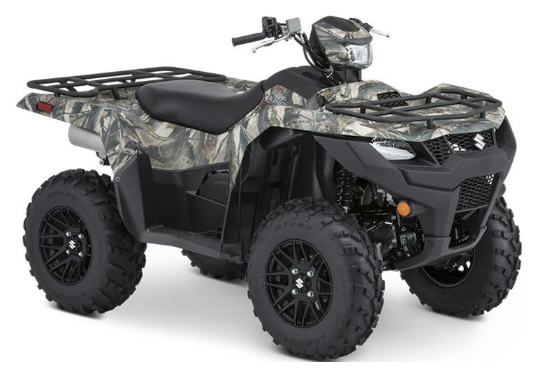 2020 Suzuki KingQuad 750AXi Power Steering SE Camo in Danbury, Connecticut - Photo 2