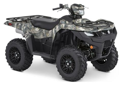 2020 Suzuki KingQuad 750AXi Power Steering SE Camo in Belleville, Michigan - Photo 2