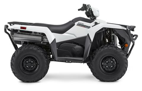 2020 Suzuki KingQuad 750AXi Power Steering with Rugged Package in Watseka, Illinois