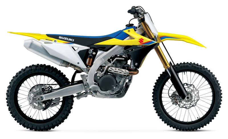 2020 Suzuki RM-Z450 in Warren, Michigan - Photo 1