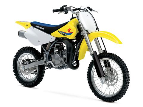 2020 Suzuki RM85 in Hancock, Michigan - Photo 2
