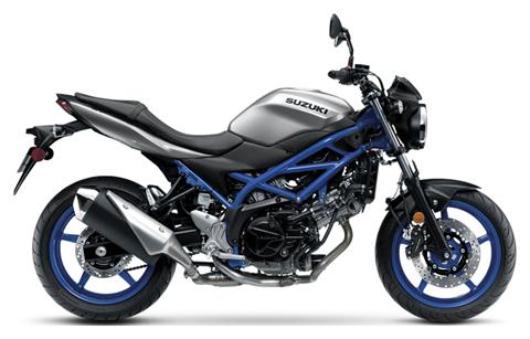 2020 Suzuki SV650 in Massillon, Ohio