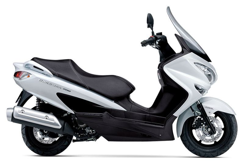 2020 Suzuki Burgman 200 in Danbury, Connecticut - Photo 1
