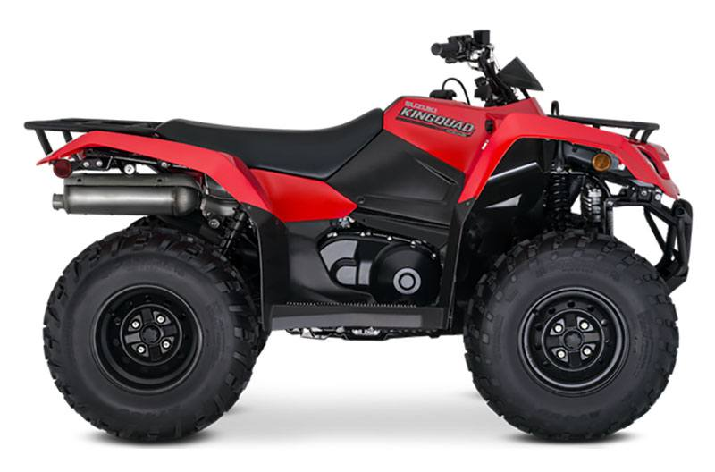 2021 Suzuki KingQuad 400ASi in Spencerport, New York - Photo 1