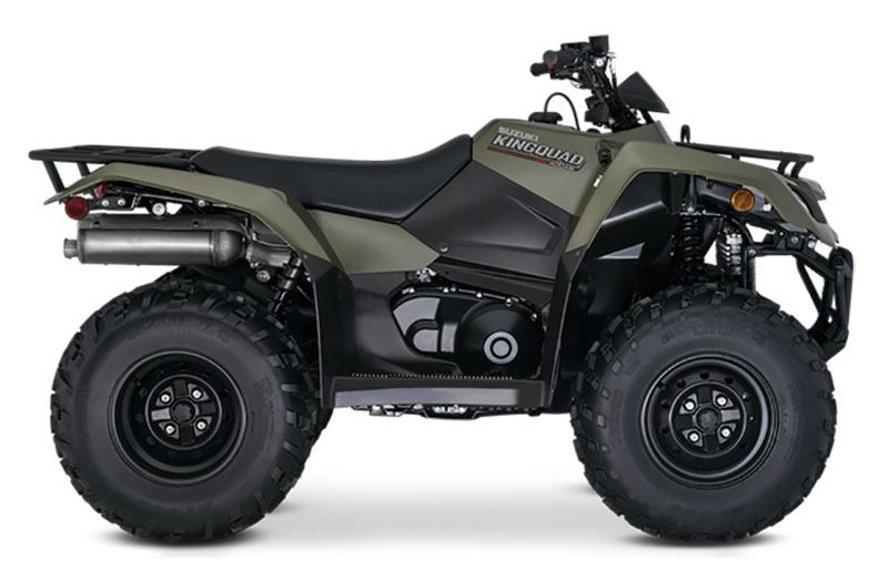 2021 Suzuki KingQuad 400ASi in Merced, California - Photo 1
