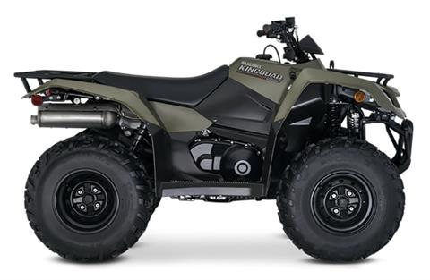 2021 Suzuki KingQuad 400ASi in Laurel, Maryland - Photo 1